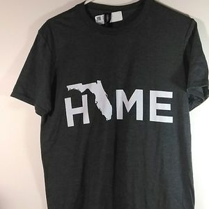 Anvil New Florida Home T-SHIRT Size M C4